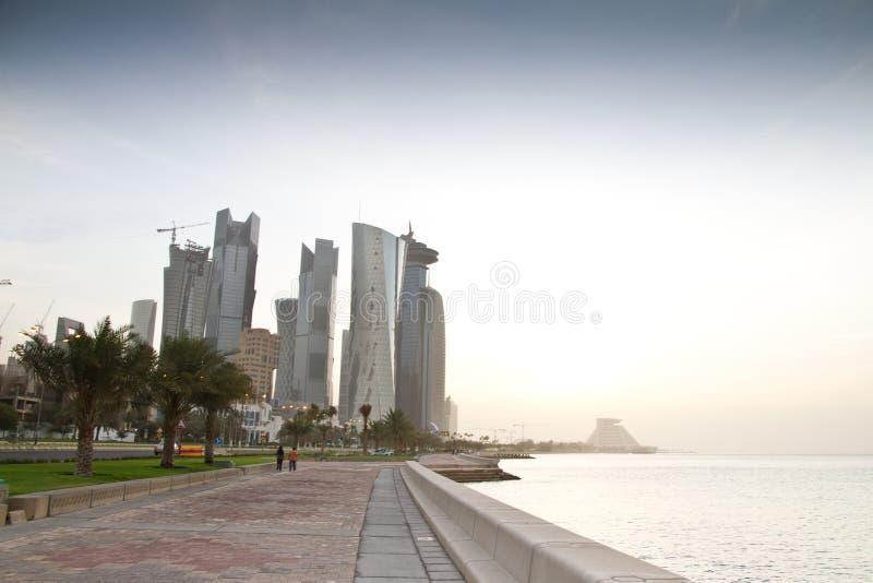 Доха стоковое изображение rf