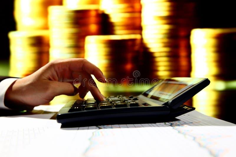 доходы вычисления стоковое изображение