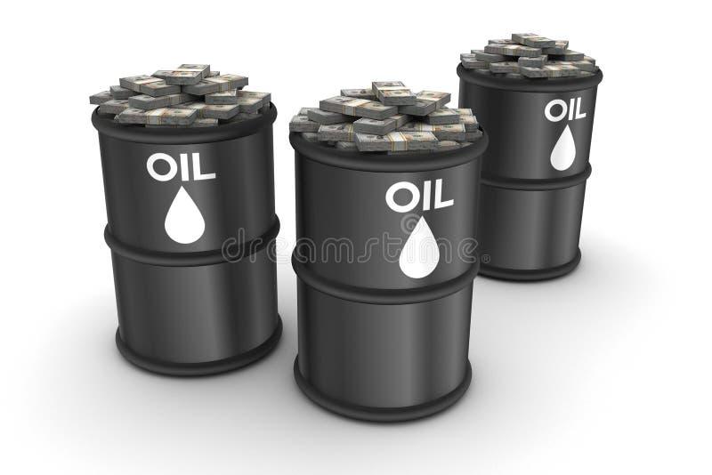Доходы от нефти стоковые изображения