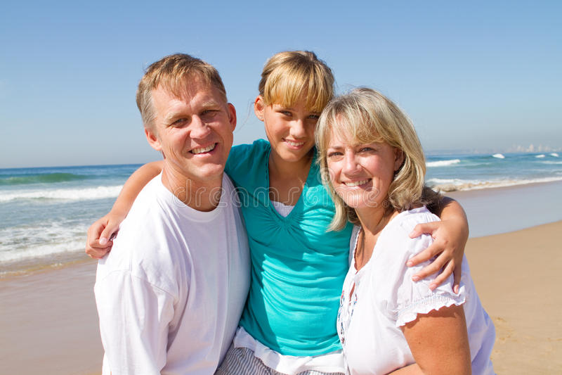 дочь parents предназначенное для подростков стоковое фото