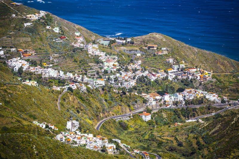 Долина в горе Anaga стоковая фотография rf