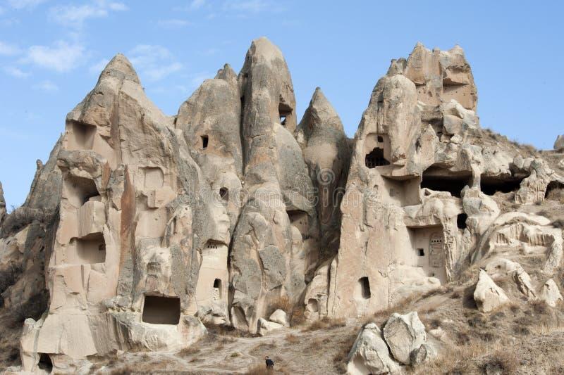 Долина влюбленности, зона Goreme, Турция стоковое фото rf