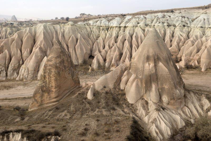 Долина влюбленности, зона Goreme, Турция стоковая фотография rf