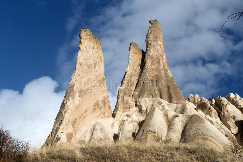 Долина влюбленности, зона Goreme, Турция стоковые изображения