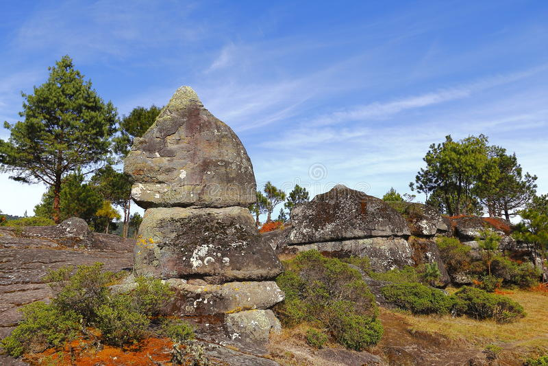 Долина i encimadas Piedras стоковое изображение rf