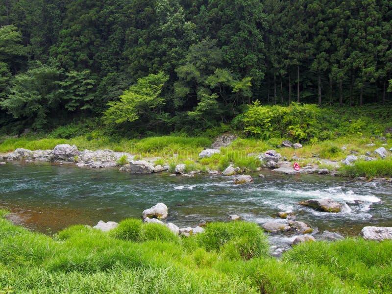 Долина Mitake в Okutama, токио стоковая фотография
