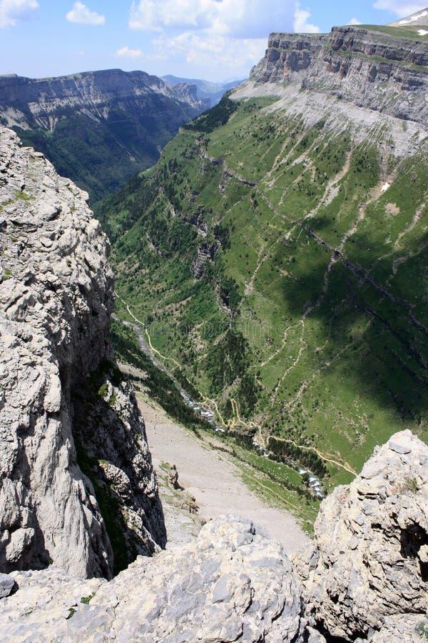Долина Ordesa стоковое фото
