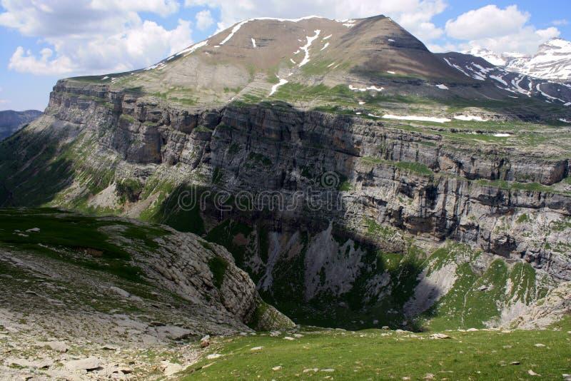 Долина Ordesa стоковая фотография