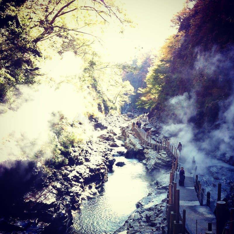 Долина Oyasu стоковая фотография rf