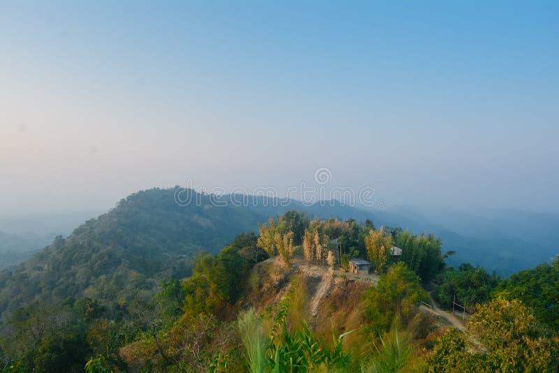Долина Sajek стоковая фотография