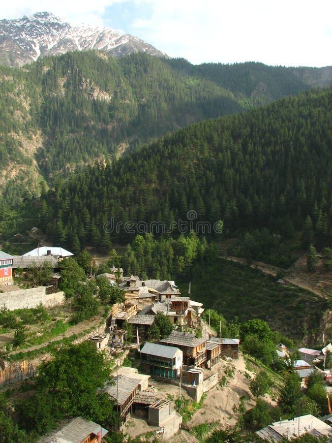 Долина Sangla в Himachal Pradesh стоковое изображение