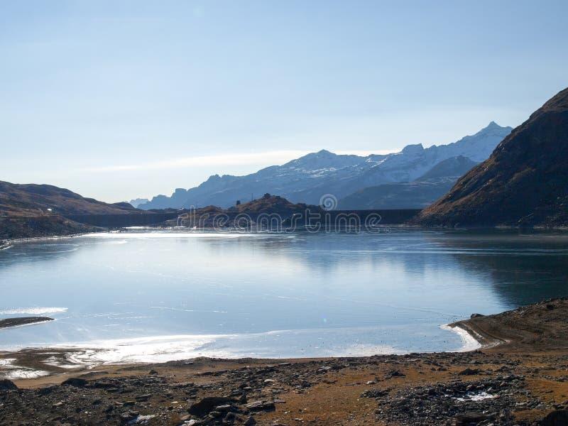 Долина Spluga стоковая фотография rf