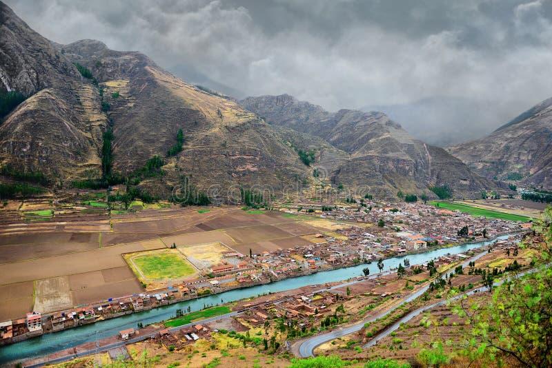 Долина Urubamba стоковые изображения