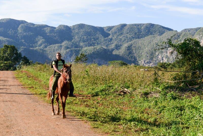 Долина Vinales на Кубе стоковая фотография