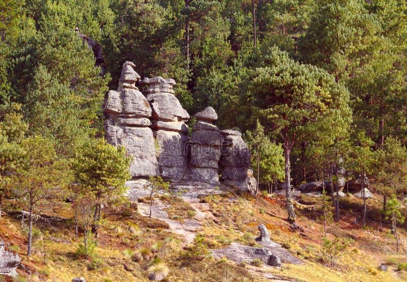 Долина XVII encimadas Piedras стоковая фотография rf