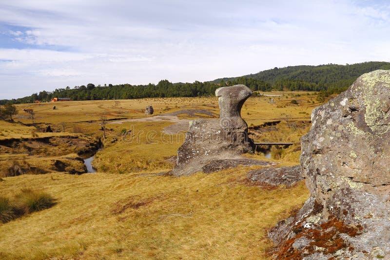Долина XX encimadas Piedras стоковые изображения
