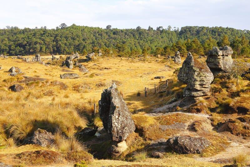 Долина XXIX encimadas Piedras стоковые изображения