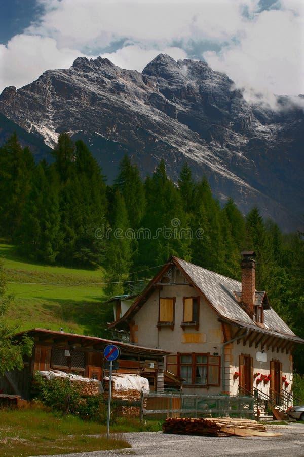 Доломиты, Италия стоковое изображение rf