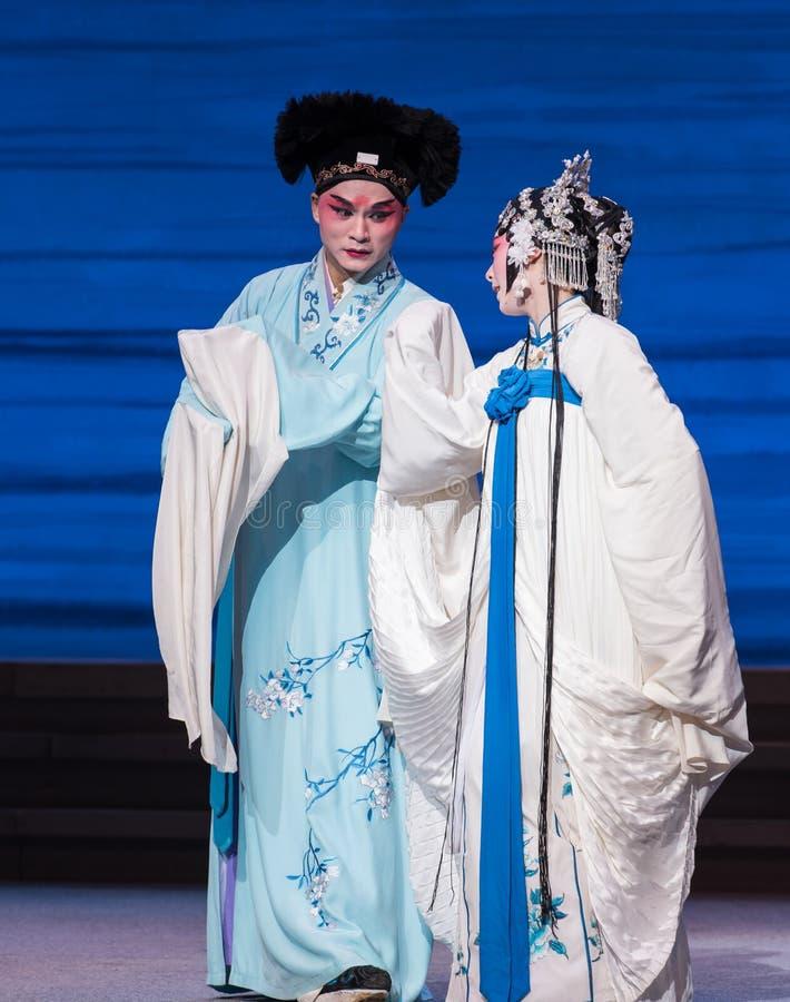 """До последнего развала поступка момента- седьмых  Opera""""Madame белого Snake†семей-Kunqu стоковое фото"""