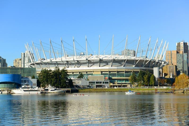 ДО РОЖДЕСТВА ХРИСТОВА установите стадион, Ванкувер, Канаду стоковое изображение