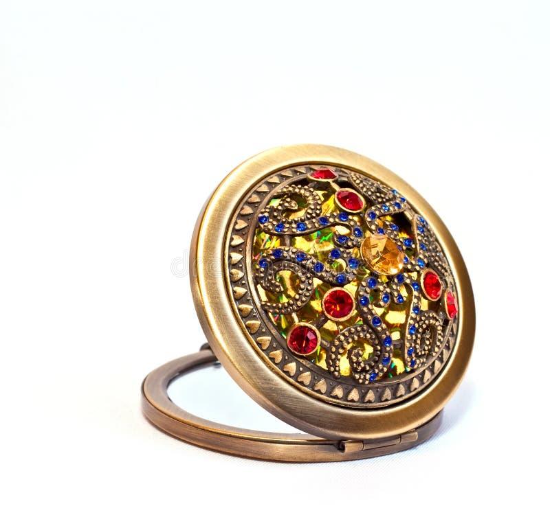 драгоценное зеркала карманное стоковые изображения