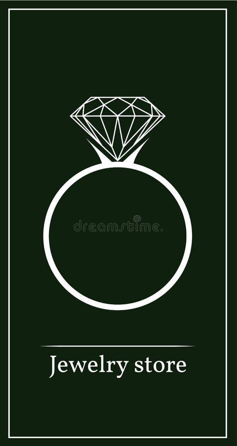 драгоценный камень кольца стоковое изображение rf