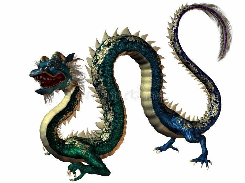 дракон восточный бесплатная иллюстрация