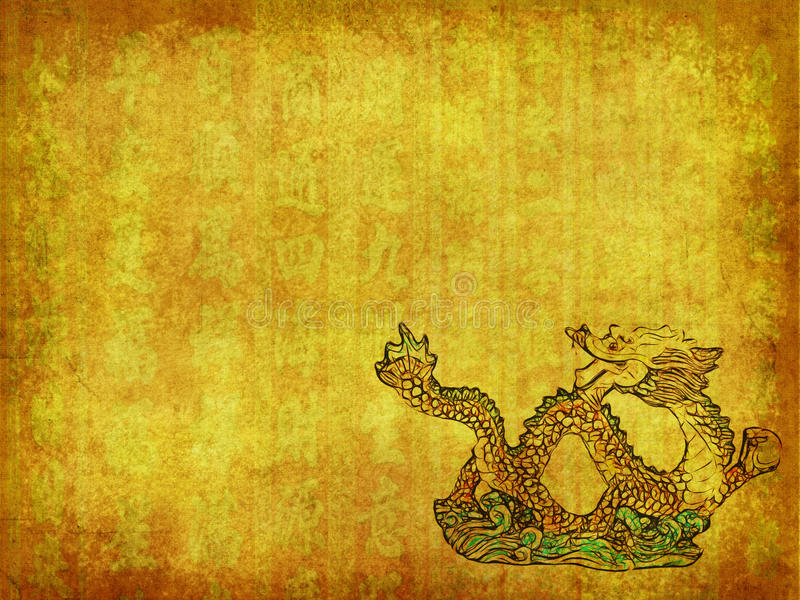 Дракон и предпосылка текстуры стоковые фото