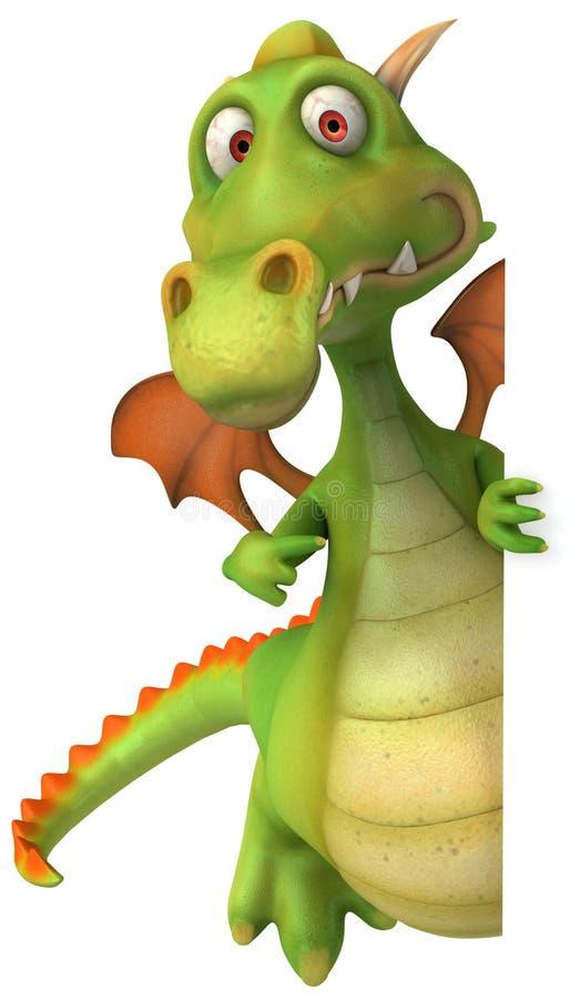 дракон иллюстрация штока