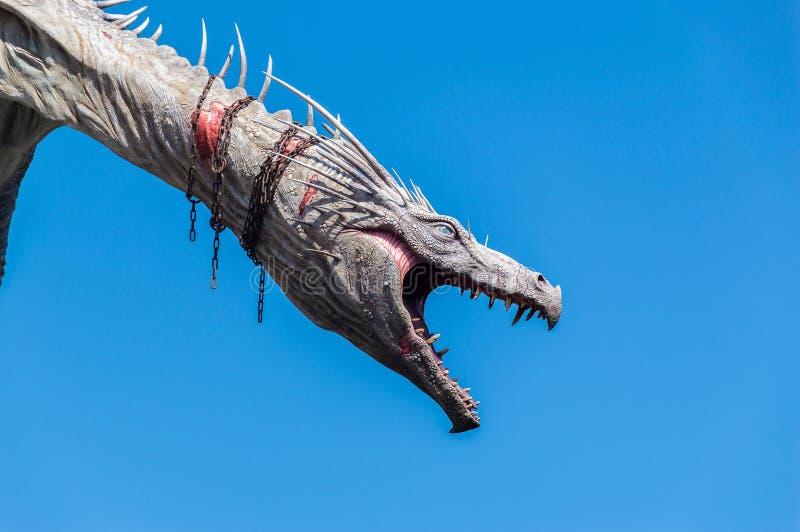 Дракон Gringotts стоковое фото