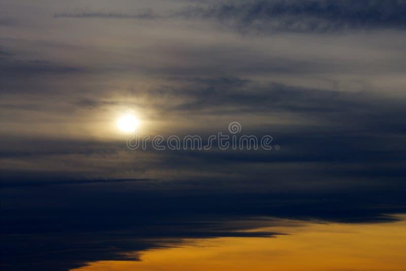 Драматический восход солнца стоковая фотография