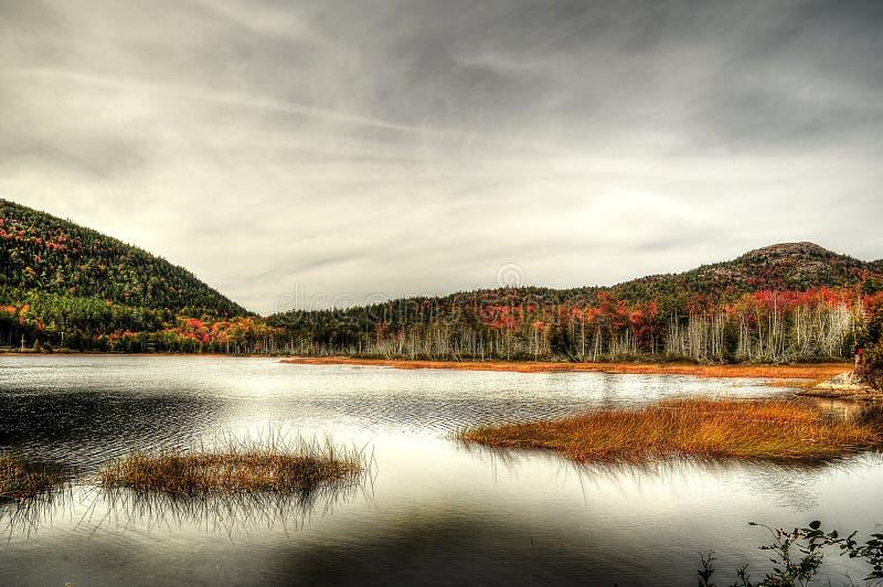 Драматическое озеро стоковые изображения
