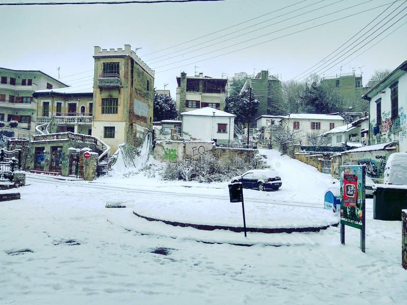 Драма Греция Санта-Барбара стоковая фотография rf