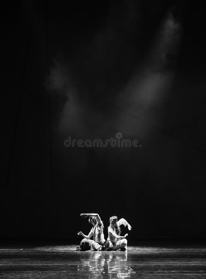 Драма танца секрета- Darkroom сказание героев кондора стоковое изображение
