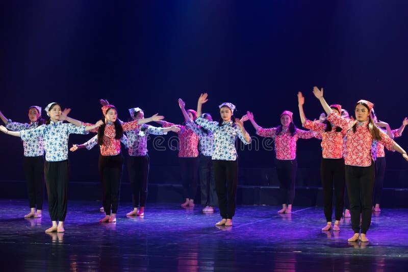 Драма танца языкового курса языка жестов 7-Lilac стоковые фотографии rf