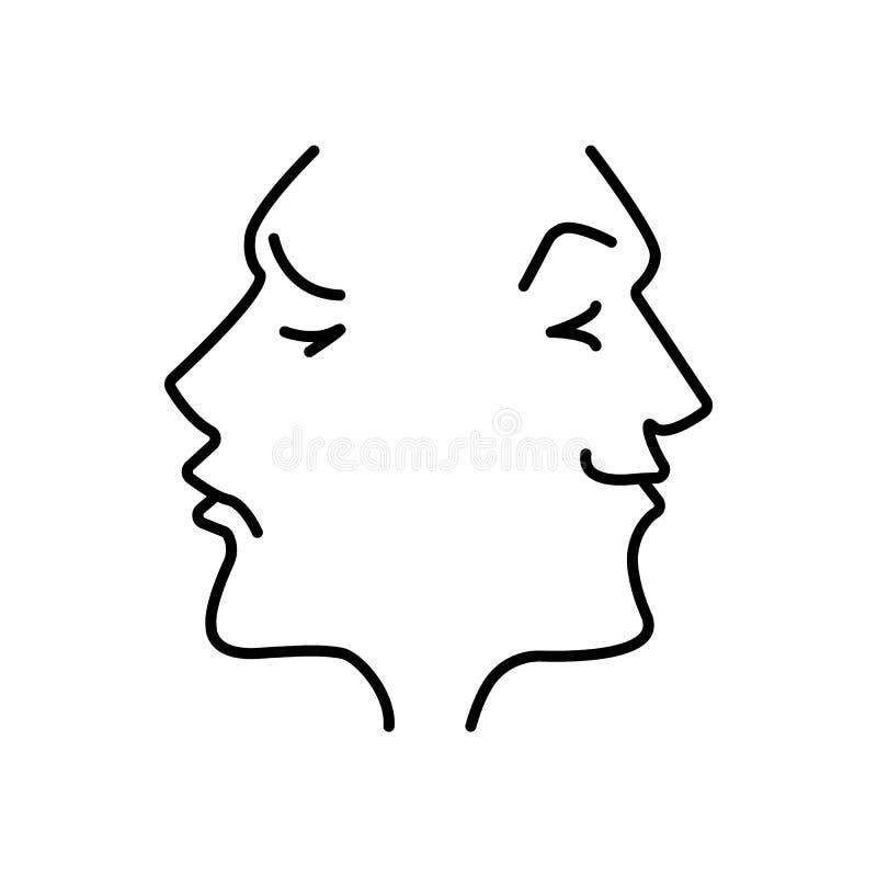Драма театра, комедия Значок вектора иллюстрации бесплатная иллюстрация