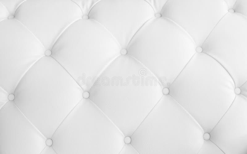 Драпирование белой кожи для предпосылки стоковое фото rf
