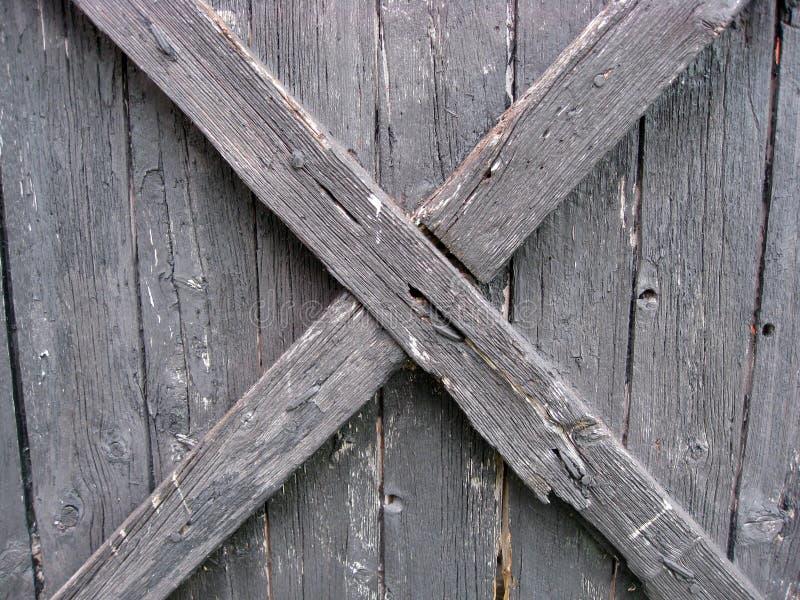 древесина выдержанная загородкой стоковое изображение