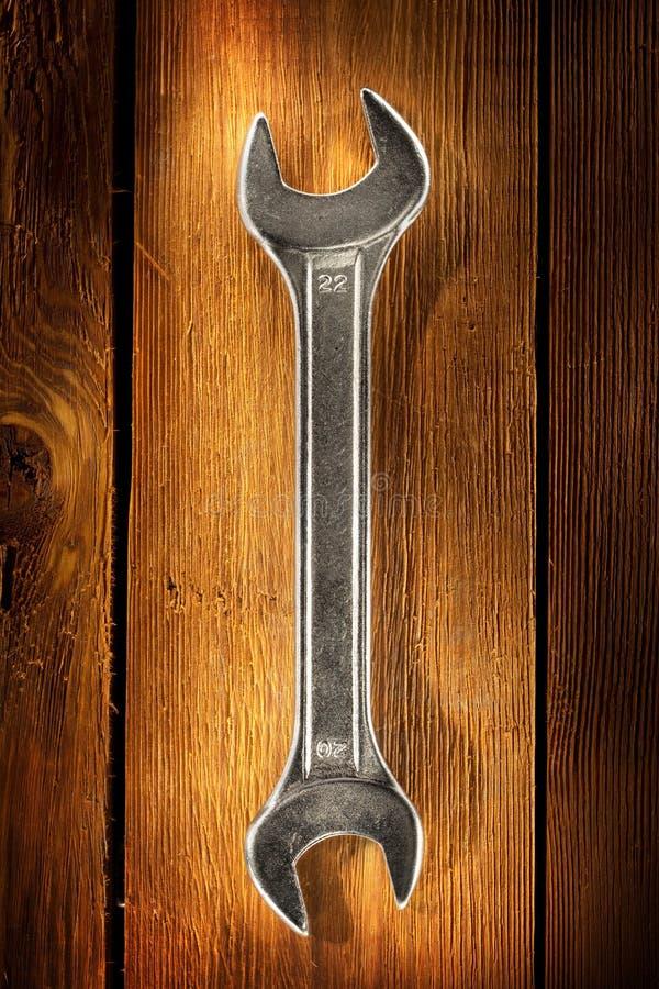 древесина гаечного ключа стоковые изображения