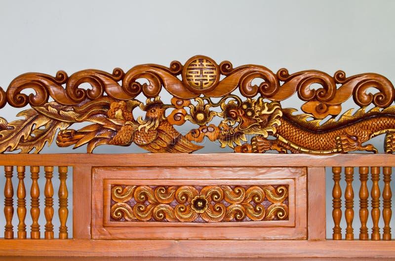 древесина гравировки стоковое фото