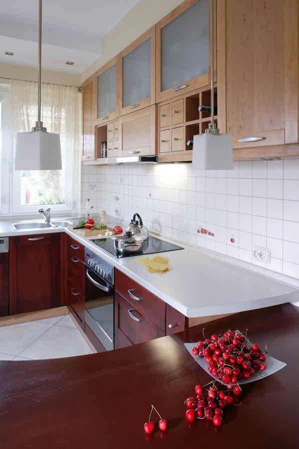 древесина кухни s стоковые фотографии rf