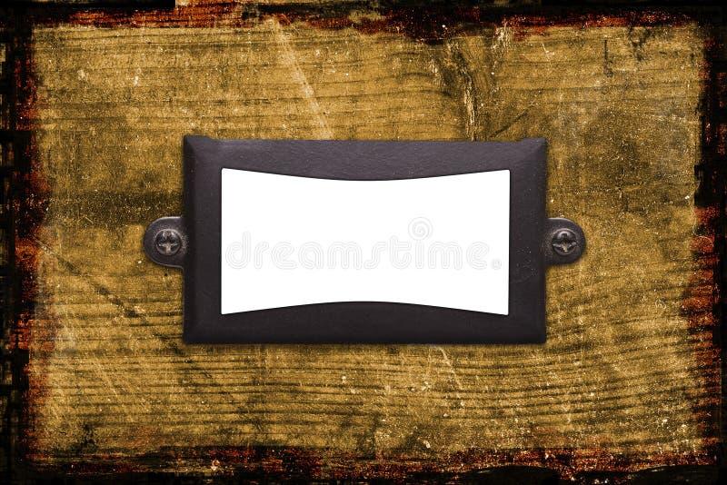 древесина металла рамки предпосылки старая текстурированная стоковое изображение rf