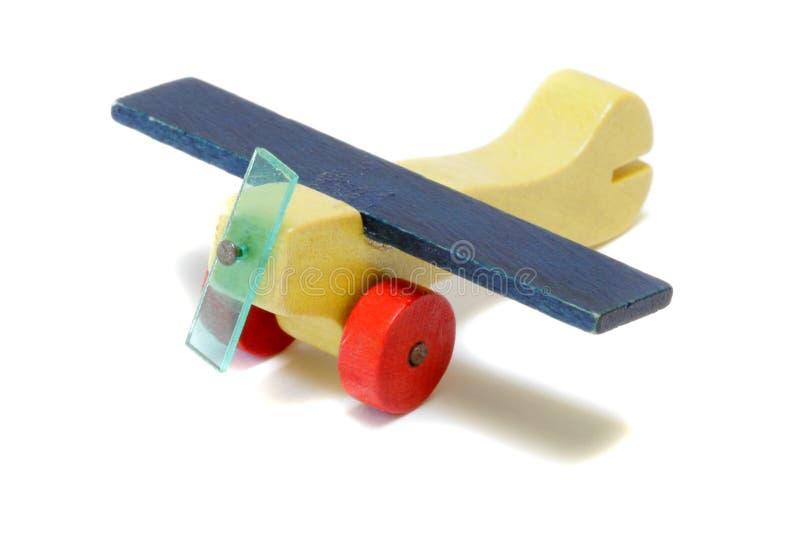 древесина миниатюры самолета стоковые фотографии rf