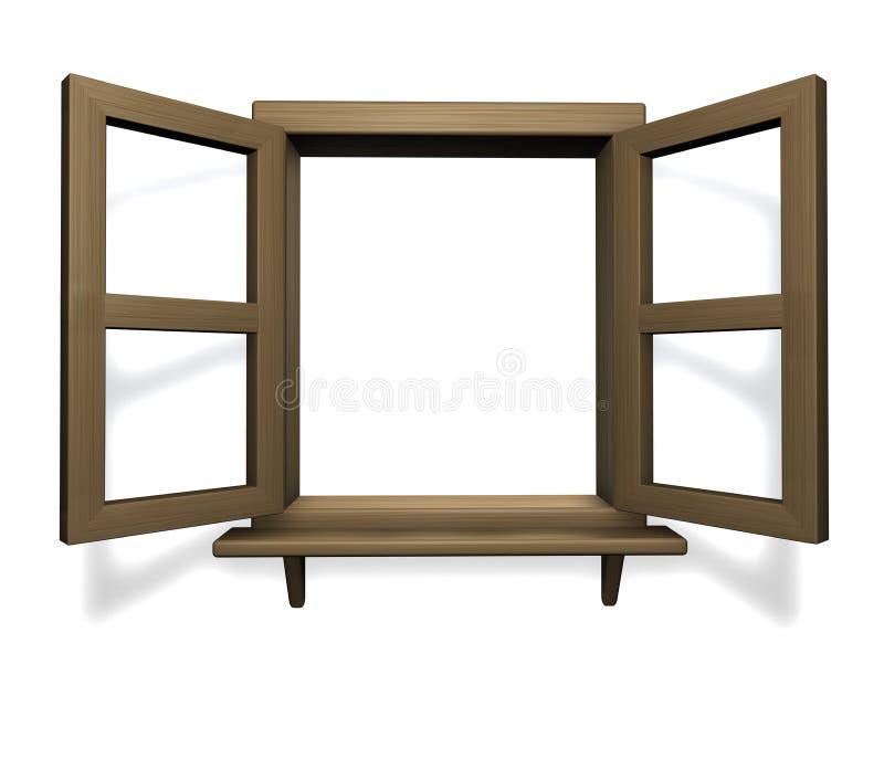 древесина окна бесплатная иллюстрация