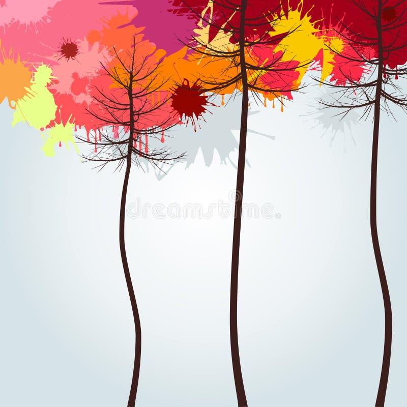 Download Древесина осени иллюстрация вектора. иллюстрации насчитывающей рожочки - 33736489