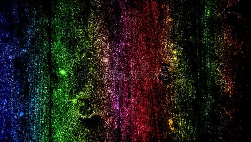 Древесина радуги затеняла предпосылку текстурированную ярким блеском r стоковые изображения rf