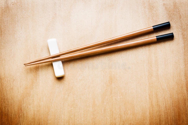 древесина таблицы палочки востоковедная стоковые изображения