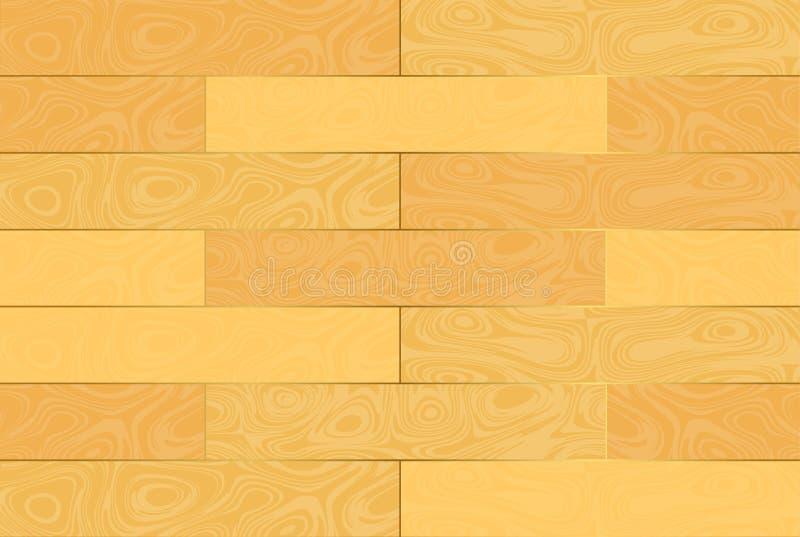 древесина текстуры swatches иллюстрация вектора