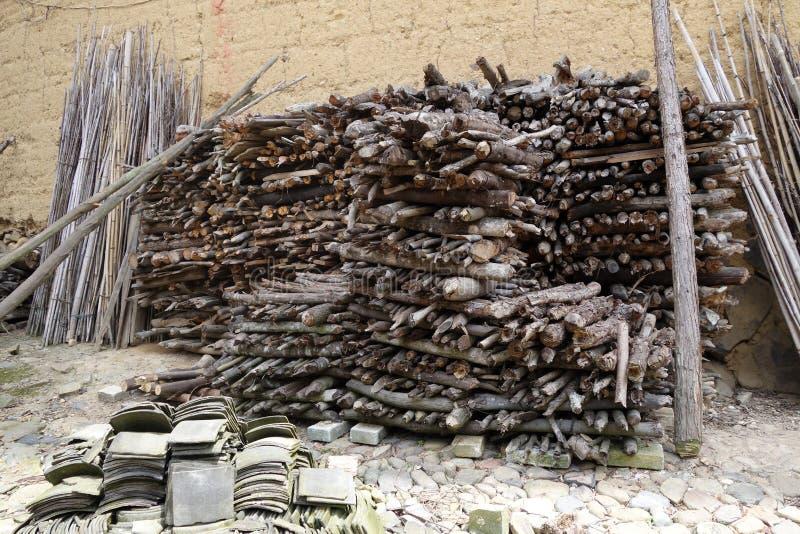 Древесина топлива стоковые изображения rf