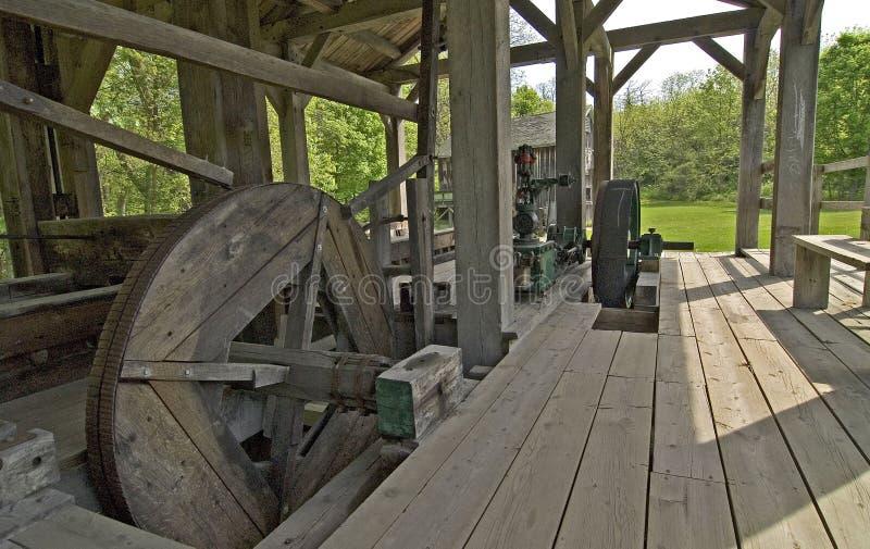 древесина 1837 лесопилки john стоковые фото